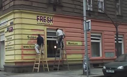 Ceník nátěru fasády